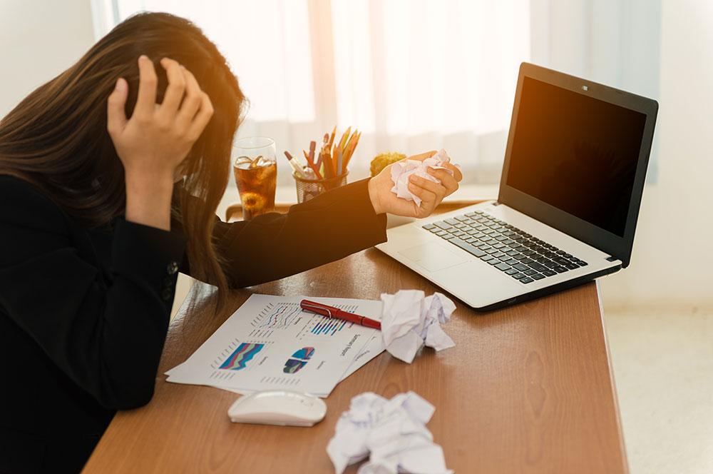 転職はストレスが原因でも良い!それでも、転職にはストレスがかかるもののイメージ