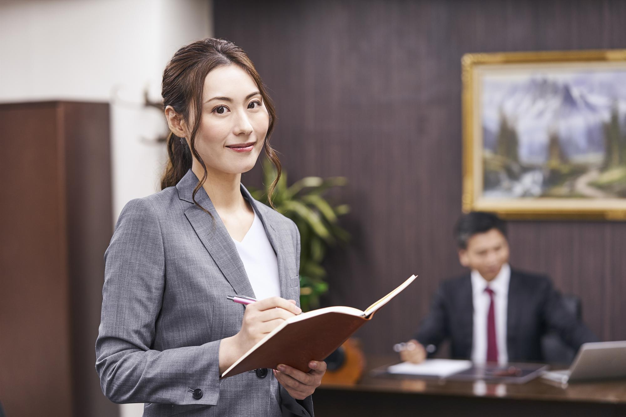 第二新卒や未経験でも秘書を目指すには?仕事のやりがい、スキル、転職方法の本当のところのイメージ